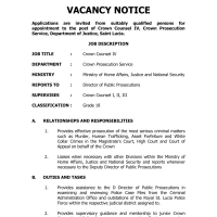 Latest Jobs for OECS Citizens