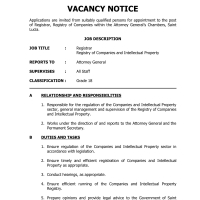 Latest Jobs for OECS Citizens